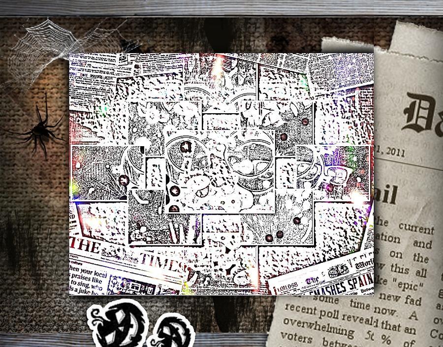 News Digital Art by HollyWood Creation By linda zanini