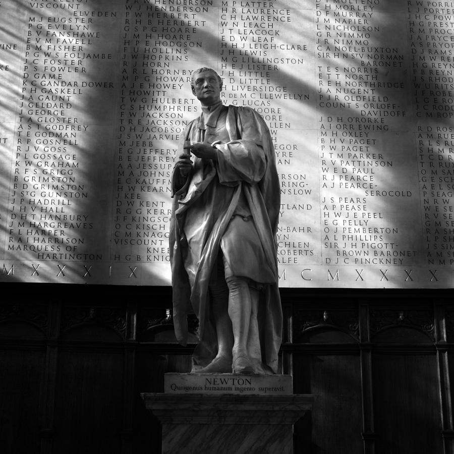 Sir Isaac Newton Photograph - Newton At Cambridge by Ed Pettitt