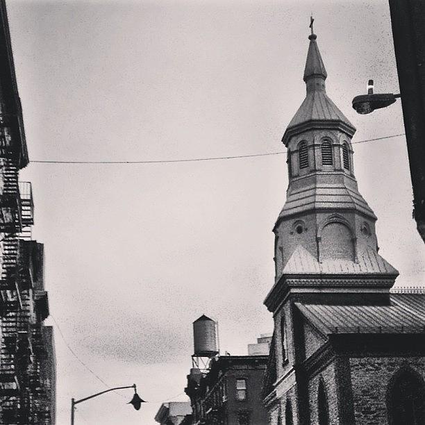 Newyork Photograph - #newyork #blackandwhite by Matthew Bryan Beck