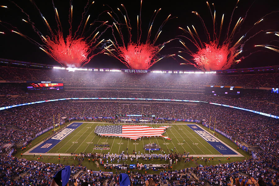 Nfl Sep 18 Lions At Giants Photograph by Icon Sportswire