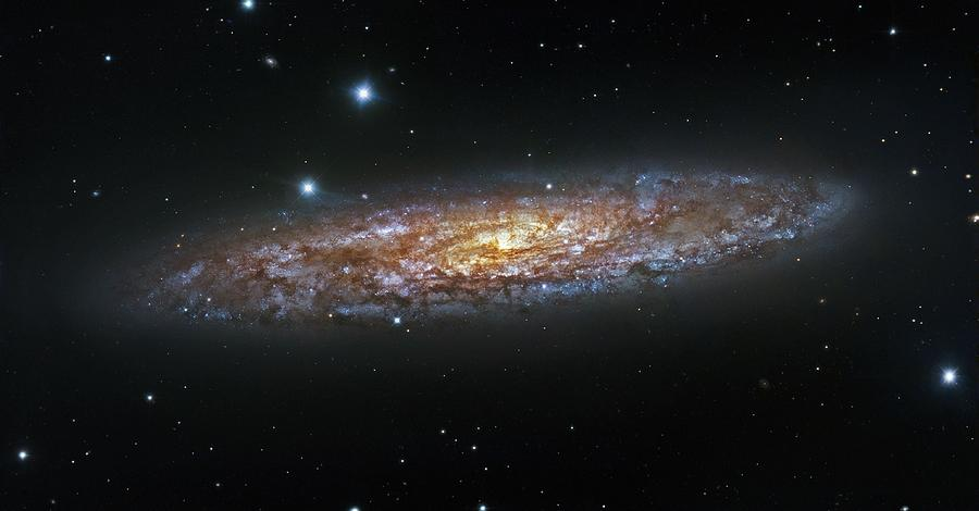 Ngc 2841 Galaxy Painting by Ce...