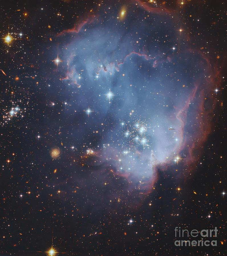 Universe Photograph - Ngc 602, Starforming Complex by Robert Gendler