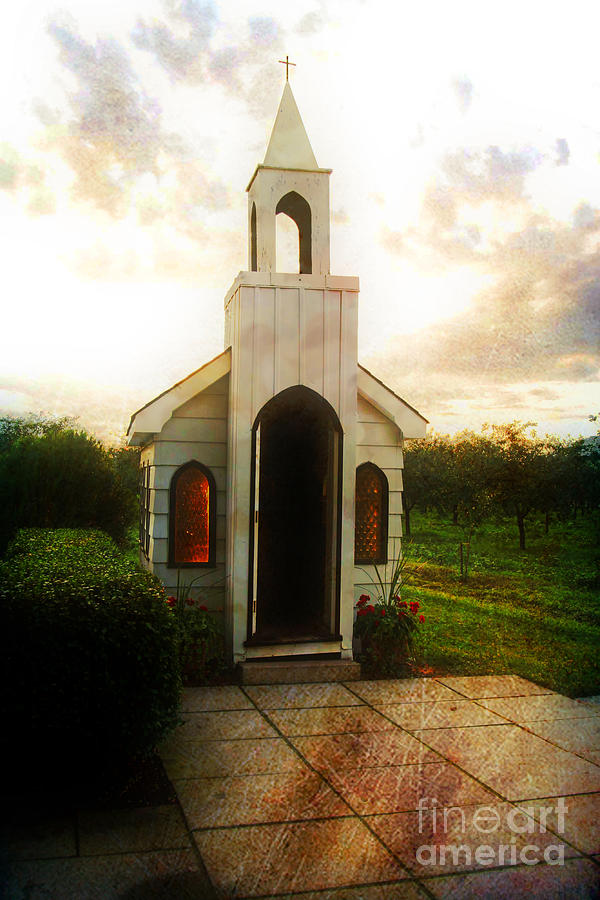 Church Photograph - Niagara Church by Scott Pellegrin