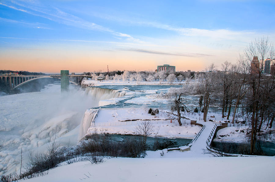 Guy Whiteley Photography Photograph - Niagara Falls 3d22213 by Guy Whiteley