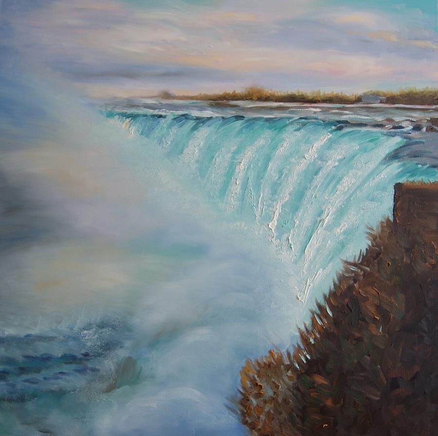 Niagara Falls Painting By Efim Melnik