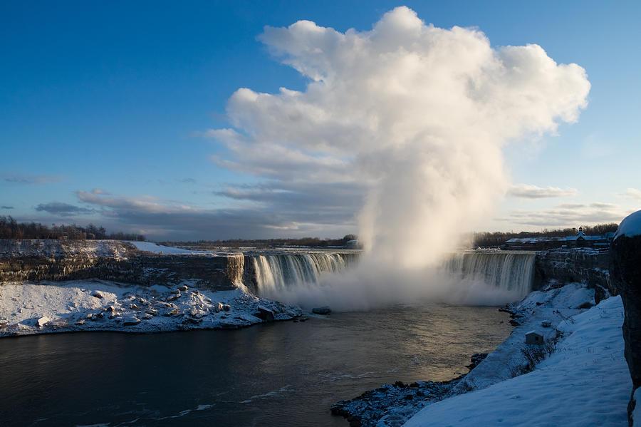 Niagara Falls Makes Its Own Weather by Georgia Mizuleva