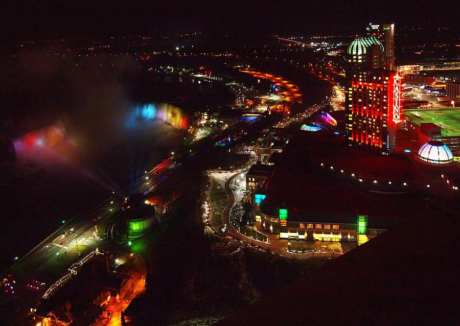 Niagara Flalls  Photograph - Niagara Falls Overview by Robert Watcher