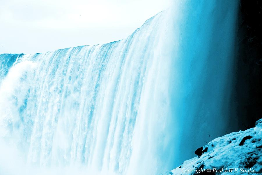 Falls Photograph - Niagara Falls ..so Blue by Al Fritz