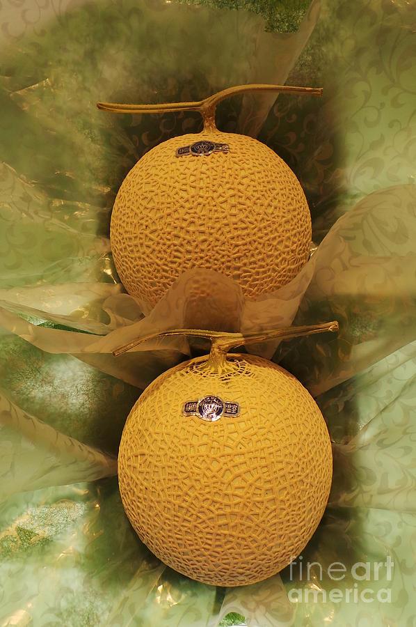 Melons Photograph - Nice Melons by David Bearden