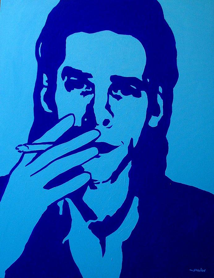 Icon Painting - Nick Cave by John  Nolan