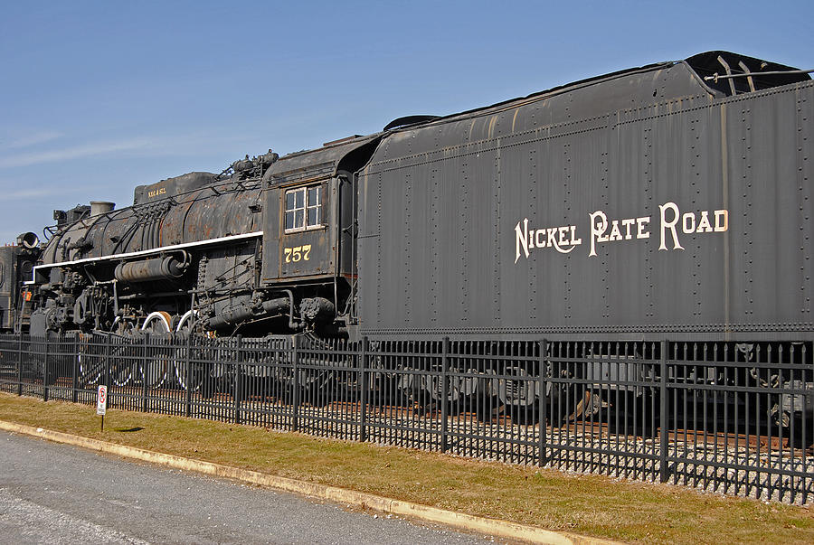 Rr Photograph - Nickel Plate Road by Skip Willits