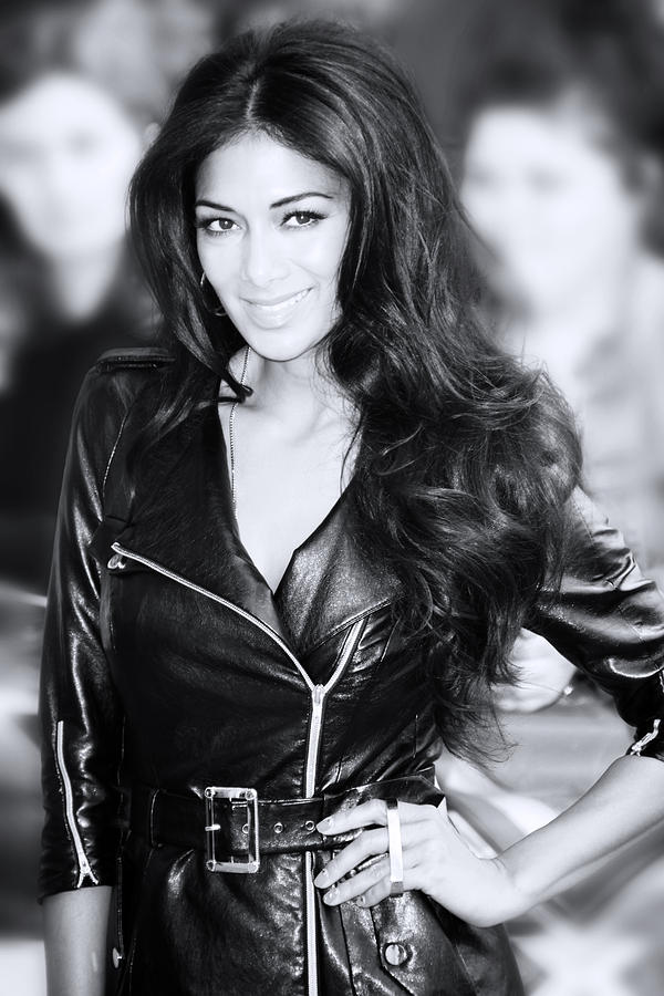 Jezcself Photograph - Nicole Scherzinger 20 by Jez C Self