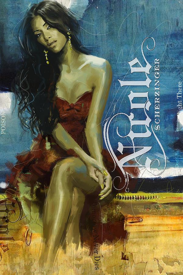 Nicole Scherzinger Painting - Nicole Scherzinger by Corporate Art Task Force
