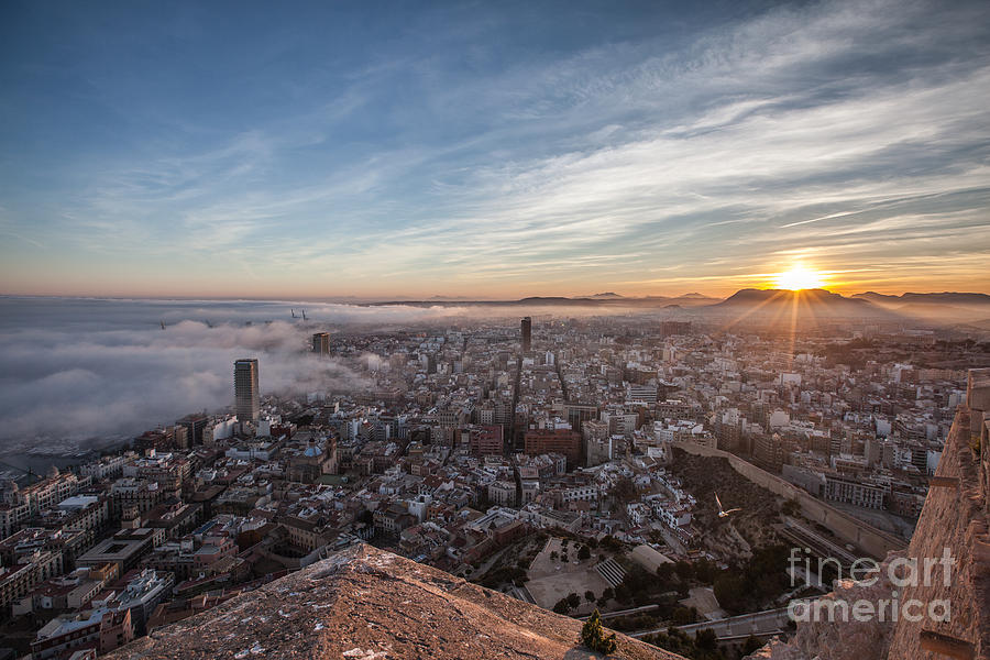 Alicante Photograph - Niebla En Alicante by Eugenio Moya