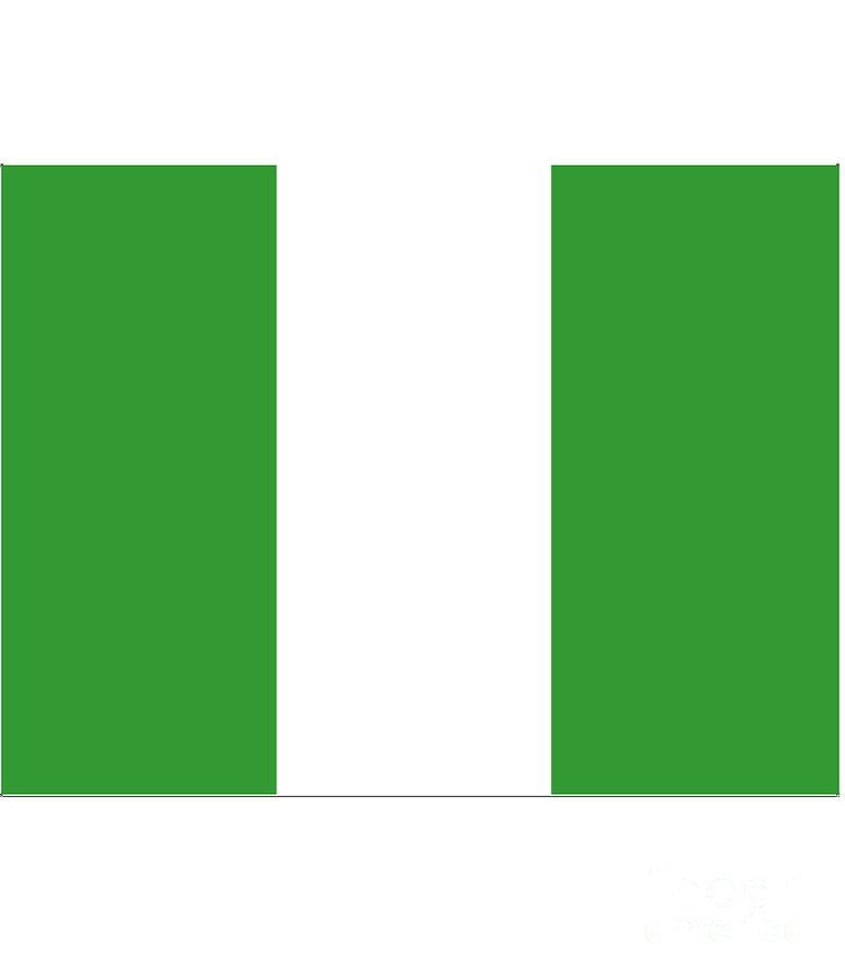 Nigeria Digital Art - Nigeria Flag by Frederick Holiday