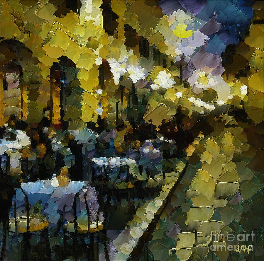 Night Cafe In Arles Painting - Night Cafe by Dragica  Micki Fortuna