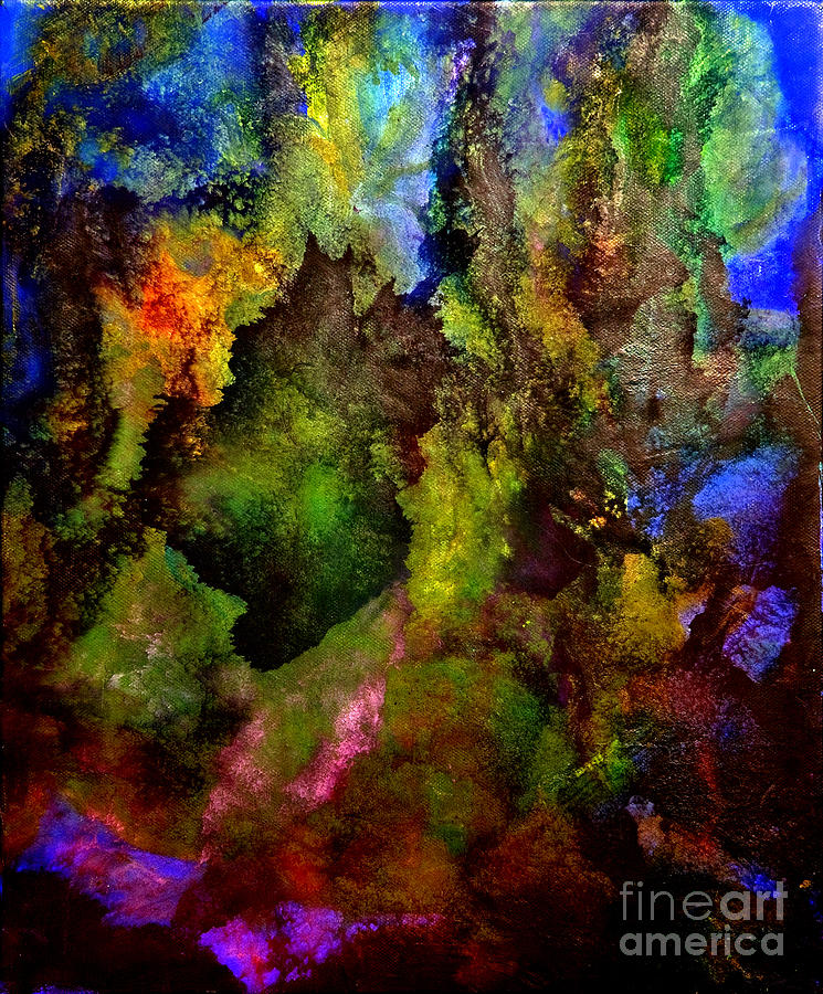 Night Garden by Pauli Hyvonen