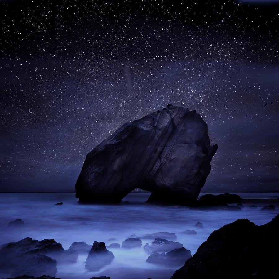 Night Photograph - Night Guardian by Jorge Maia