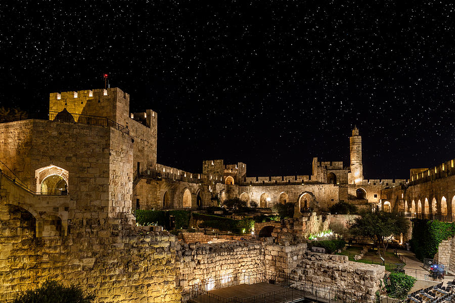 Israel Photograph - Night In The Old City by Alexey Stiop