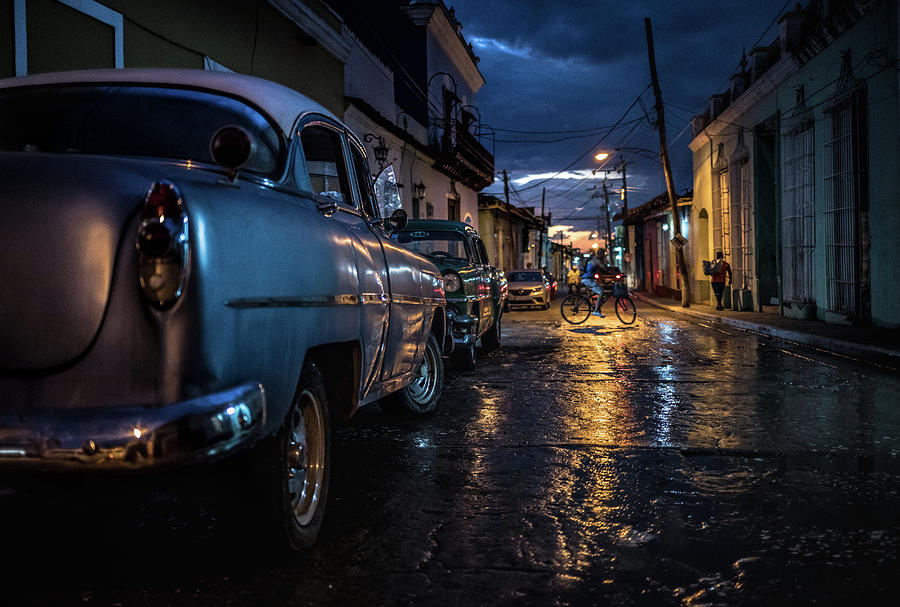 Havana Photograph - Night In Trinidad by Marco Tagliarino