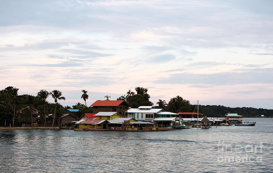 Night Photograph - Night Is Coming At Bocas by John Rizzuto