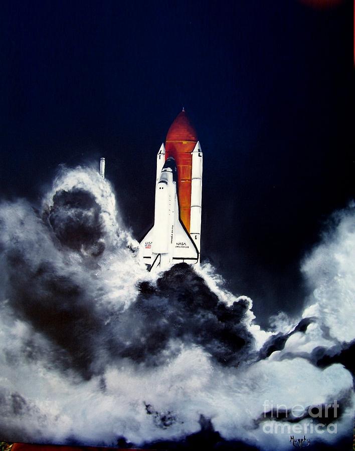 Night Launch by Murphy Elliott