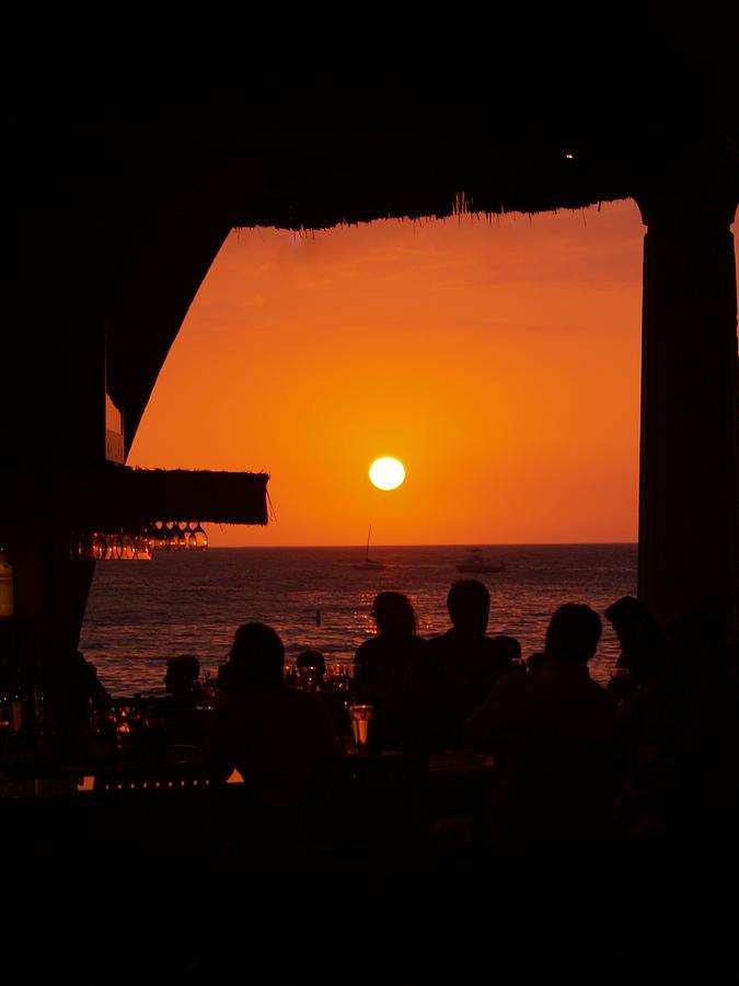 Suset Photograph - Night Life In Kona by Athala Bruckner