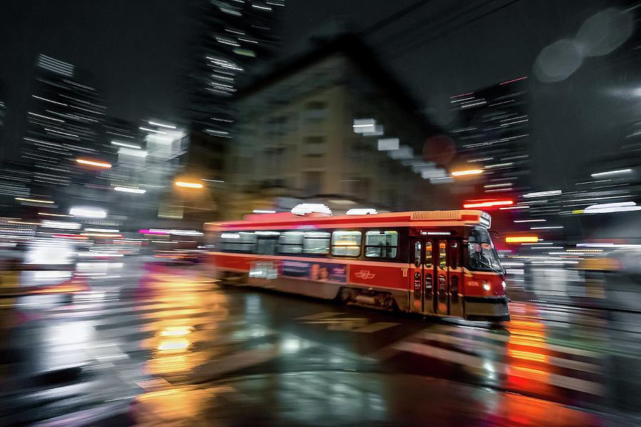Toronto Photograph - Night Moves by Jason Crockett