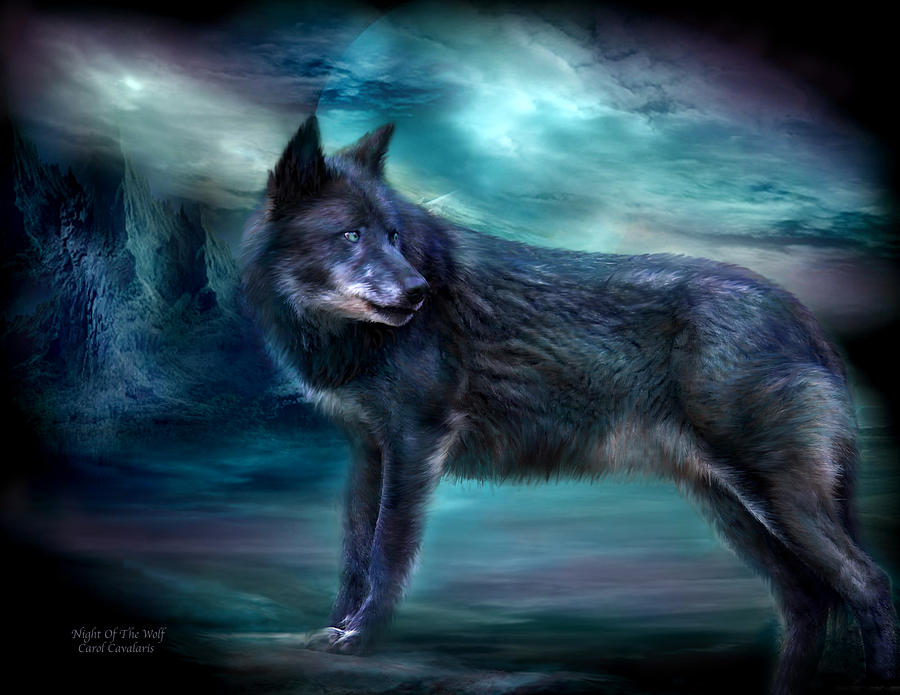 Night Of The Wolf by Carol Cavalaris