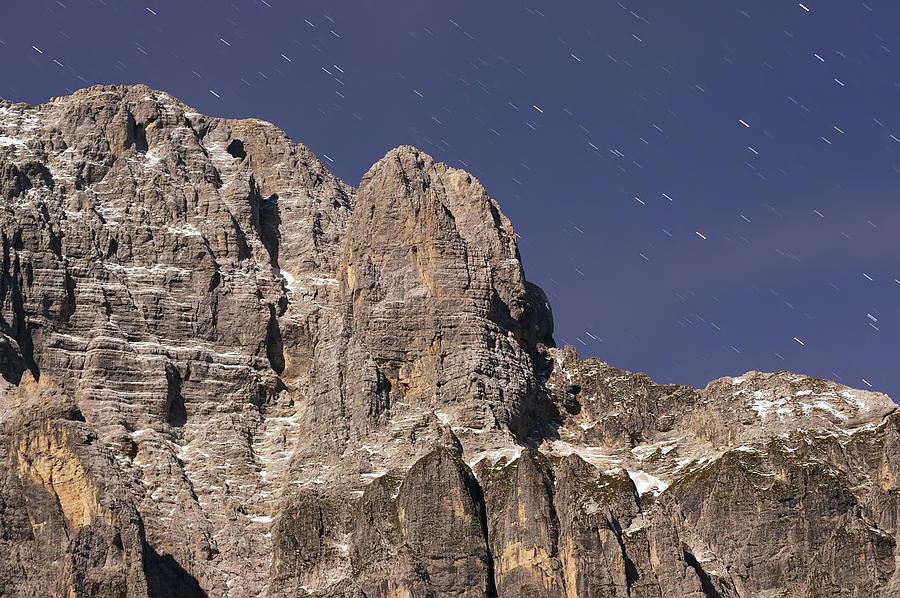 Alps Photograph - Night On Mountain by Ioan Panaite