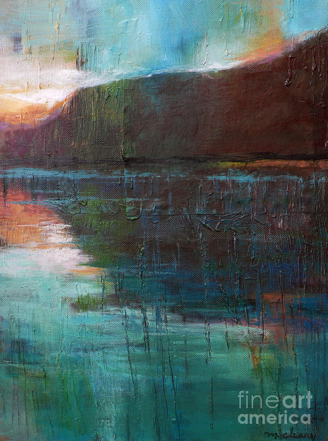 Landscape Painting - Night Passage by Melody Cleary