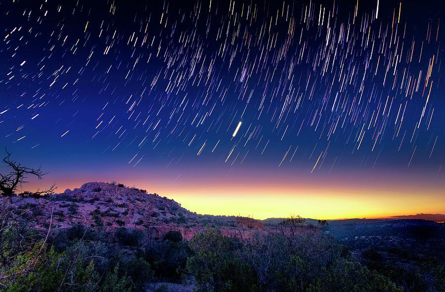 Night Skies Of Bandelier Photograph by Dean Fikar