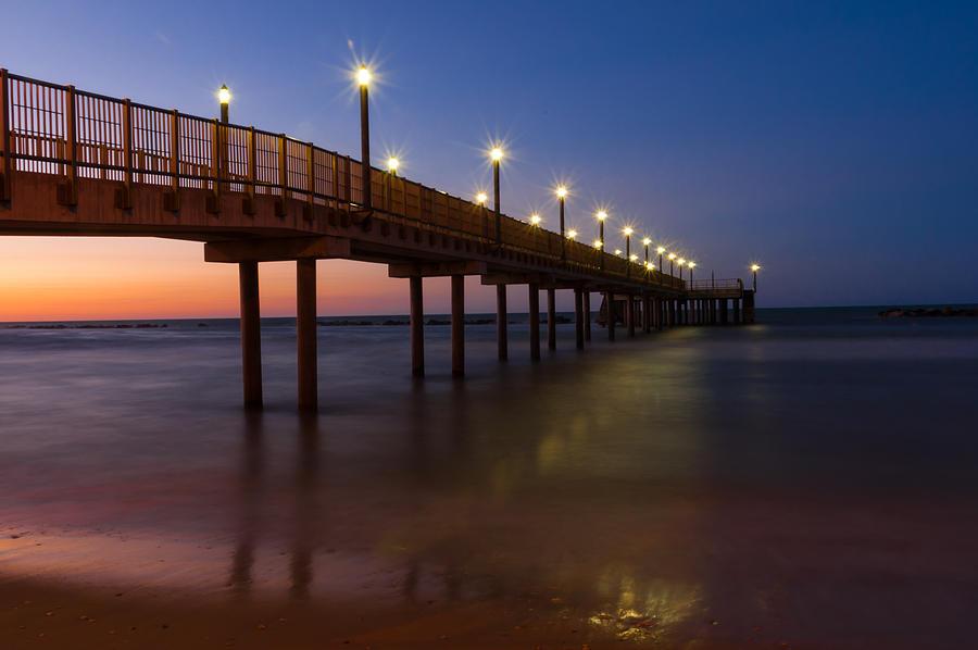 Sea Photograph - Night Time Sea by Andrea Mazzocchetti