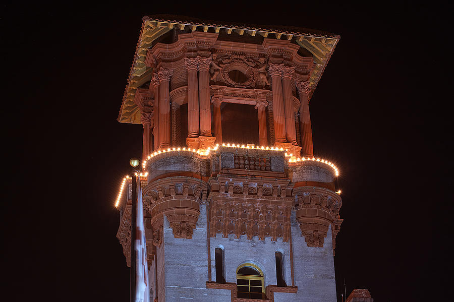 Scenery Photograph - Night Tower by Kenneth Albin