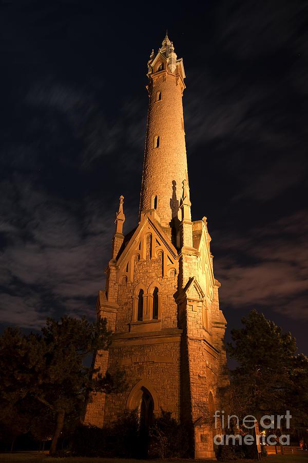 Night Tower Photograph