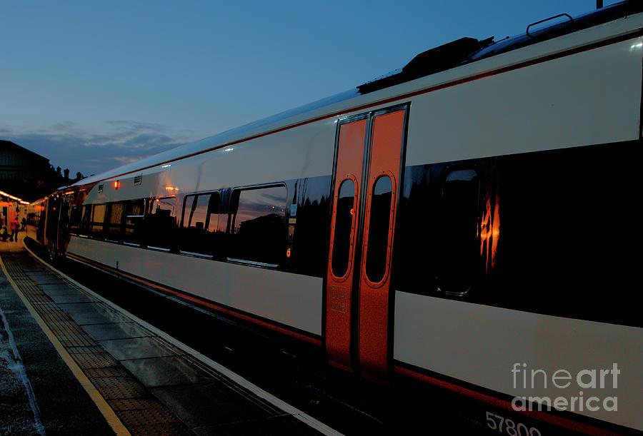 England Photograph - Night Train To London by Deborah Smolinske