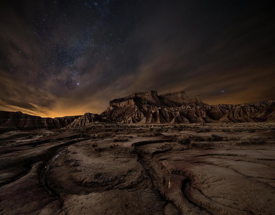 Night Wind Photograph by I?igo Cia