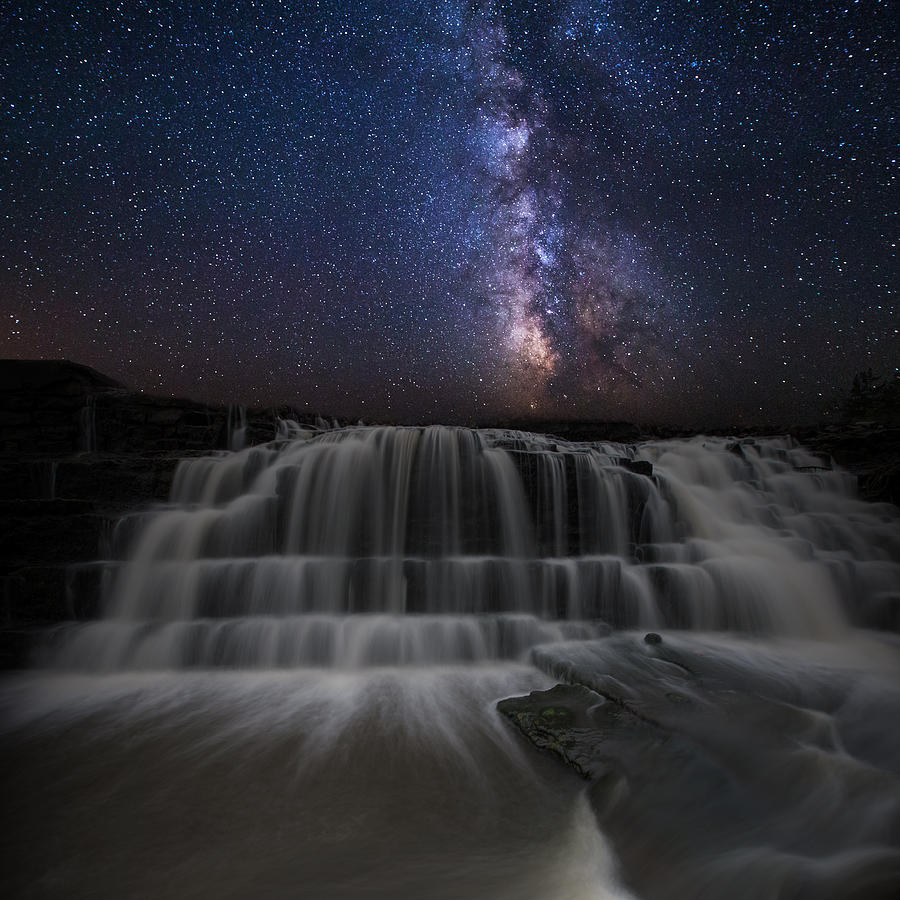 Milkyway Photograph - Nightfall by Aaron J Groen