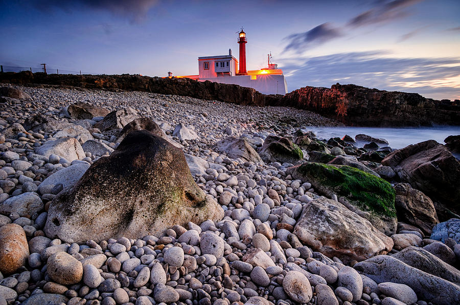 Landscapes Photograph - nightfall in Cabo Raso by Carlos Dourado
