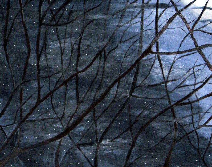 Landscape Painting - Nightlife by Kori Vincent
