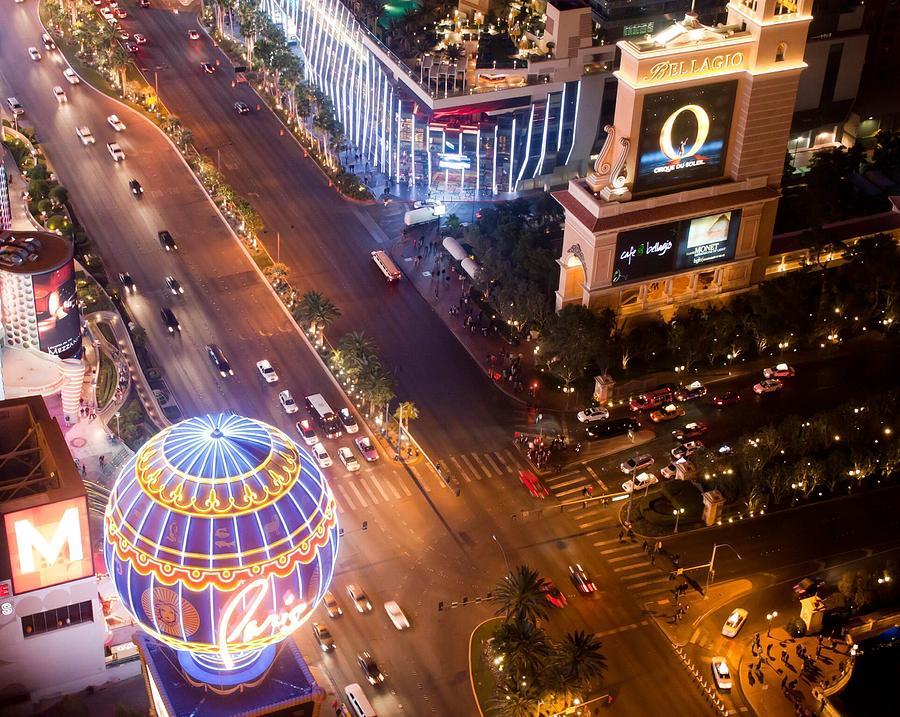 Las Vegas Photograph - Nightlife by Richie Stewart