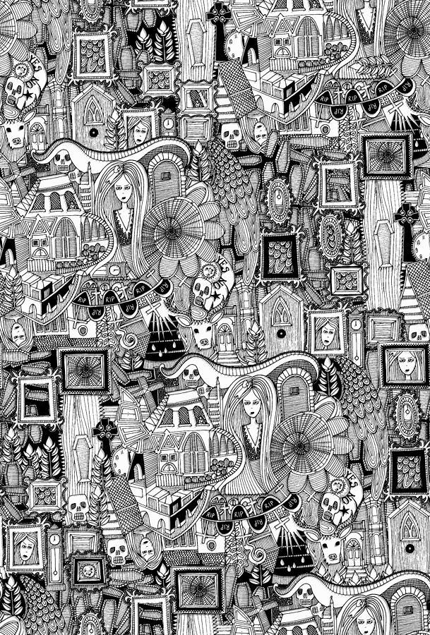 Ghost Drawing - Nightmares by MGL Meiklejohn Graphics Licensing