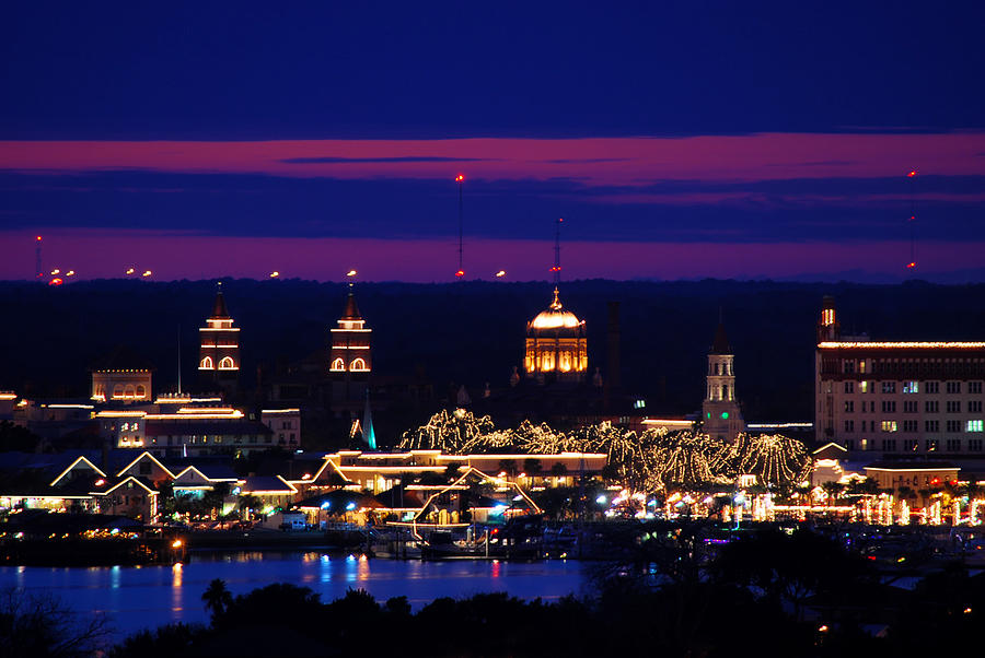 Nights of Lights St. Augustine by Stacey Sather