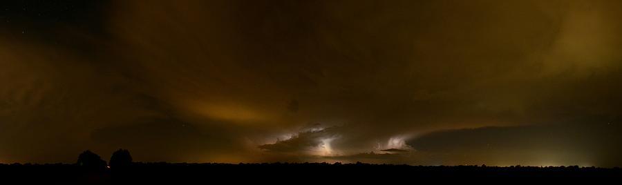 Nighttime Panoramic by William Johnson