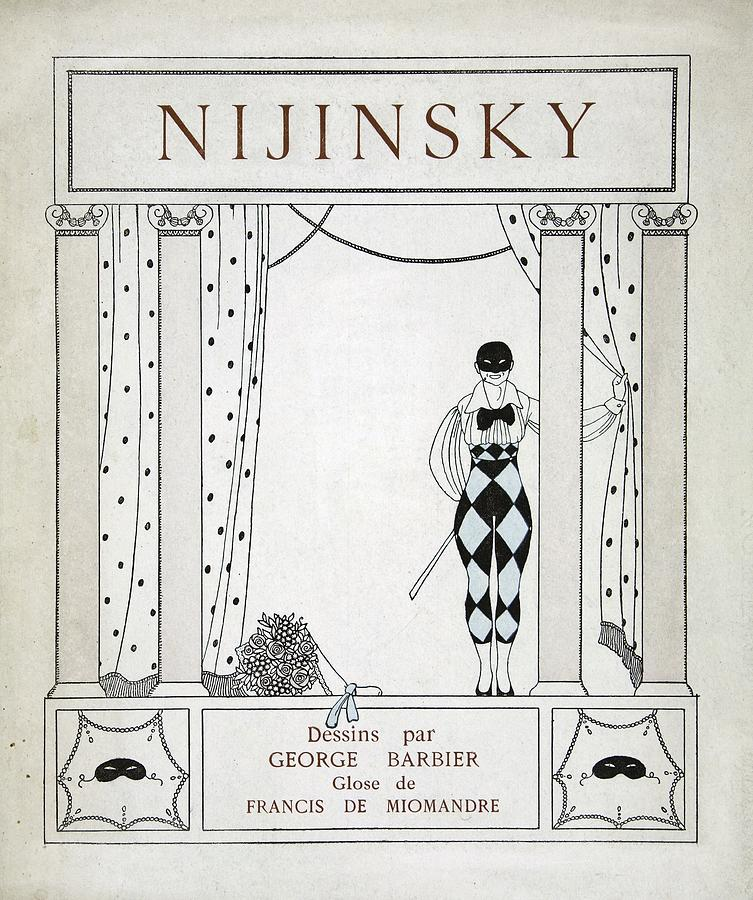Ballet Painting - Nijinsky Title Page by Georges Barbier
