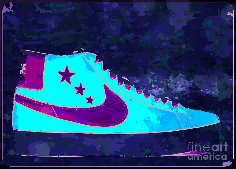 Nike Digital Art - Nike Blazer by Alfie Borg