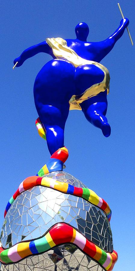 A-z Photograph - Niki de Saint Phalle Le Monde by PIXELS  XPOSED Ralph A Ledergerber Photography