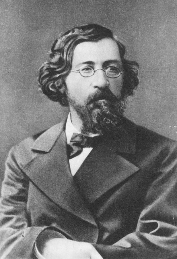 19th Century Photograph - Nikolai Chernyshevsky (1828-1889) by Granger