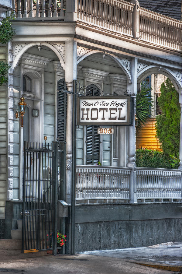 New Orleans Photograph - Nine O Five Royal by Brenda Bryant