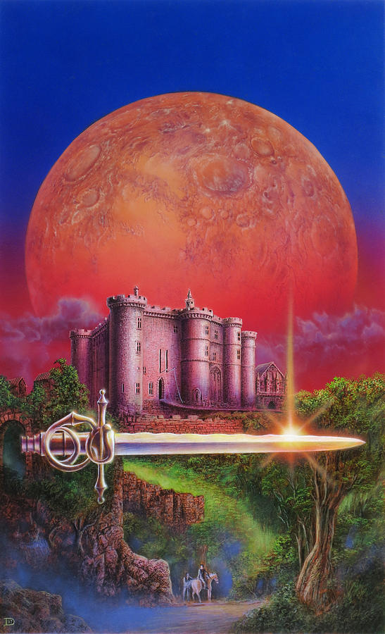 Fantasy Painting - Nine Princes In Amber by Don Dixon